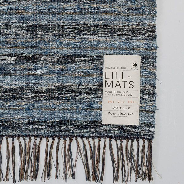 Recycle Rug Indigo by Lill-Mats