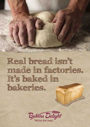 Real Bread Poster