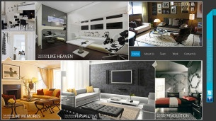 Interior Designers Website Theme