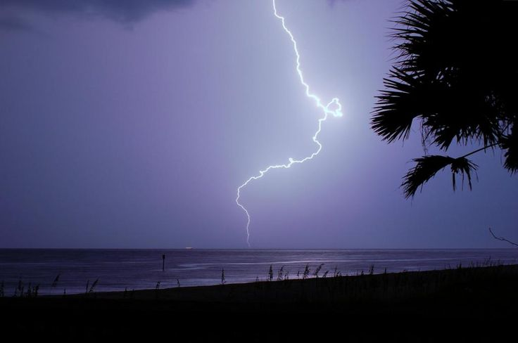 Beach In Storm Lightning: 17 Best Images About Lightning On Pinterest