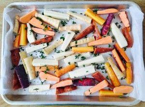 Lekkere, gezonde groentefrietjes! Snacken is lekker en gezond!