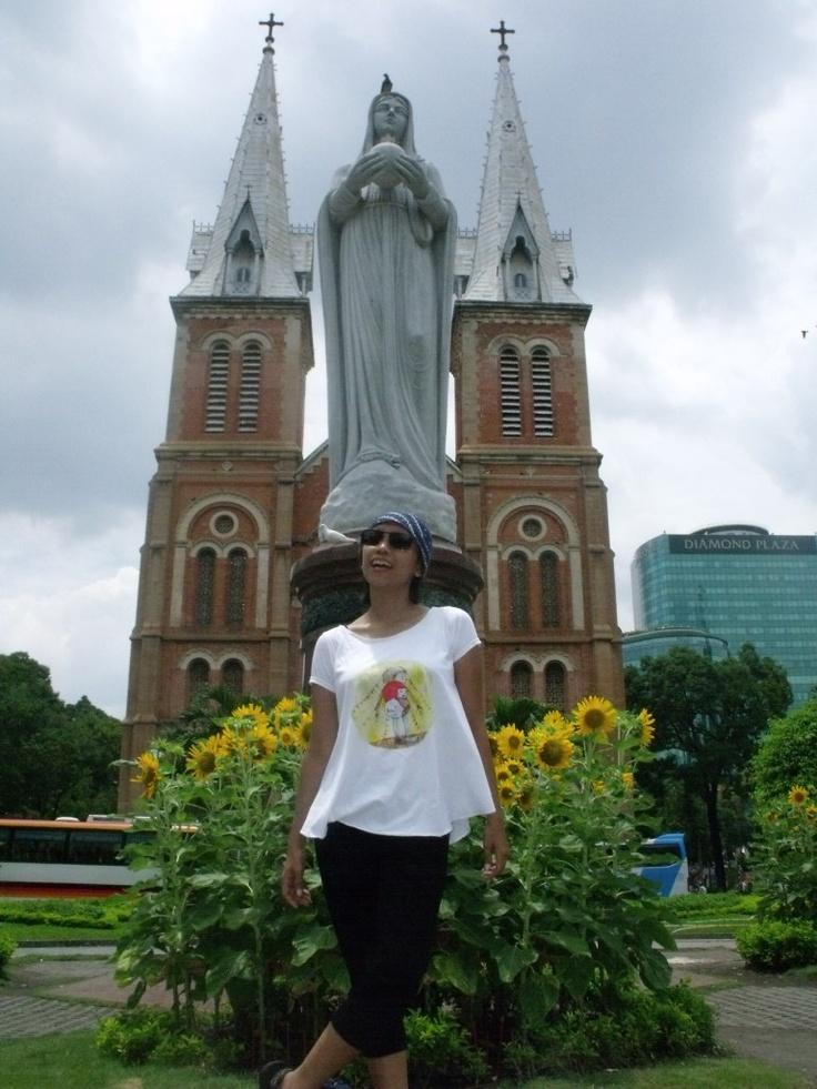 Notre Dame Chatedral  - Ho Chi Minh City Vietnam