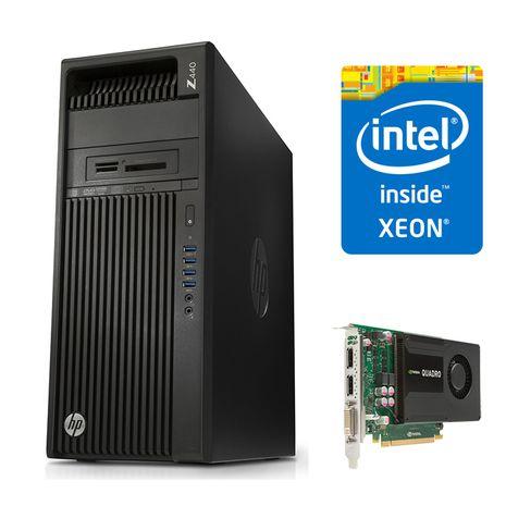 Statia grafica HP Z440 este echipata cu un procesor Intel Xeon Quad Core ce functioneaza la o frecventa maxima de 3.80 GHz, suporta pana la 128 GB RAM DDR4 ECC, este dotata cu 2 unitati de stocare (128 GB SSD + 1 TB HDD) si are o placa video nVidia Quadro K2000 - https://www.brandcomputers.ro/workstation/refurbished/workstation-hp-z440-intel-xeon-quad-core-e5-1630v3-3.80-ghz-10mb-cache-16-gb-ddr4-ecc-128-gb-ssd-1-tb-hdd-placa-video-nvidia-quadro-k2000-windows-7-pro/