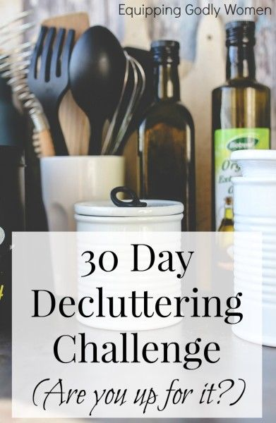 A clean and decluttered house in just 30 days? It is possible, and this post will tell you how!