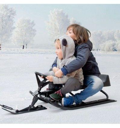 Traîneau avec Volant - 9571 - H4530294 - 8718226554338 - Si vous souhaitez passer les moments les plus amusants à la neigeavec votre famille et amis, ne...