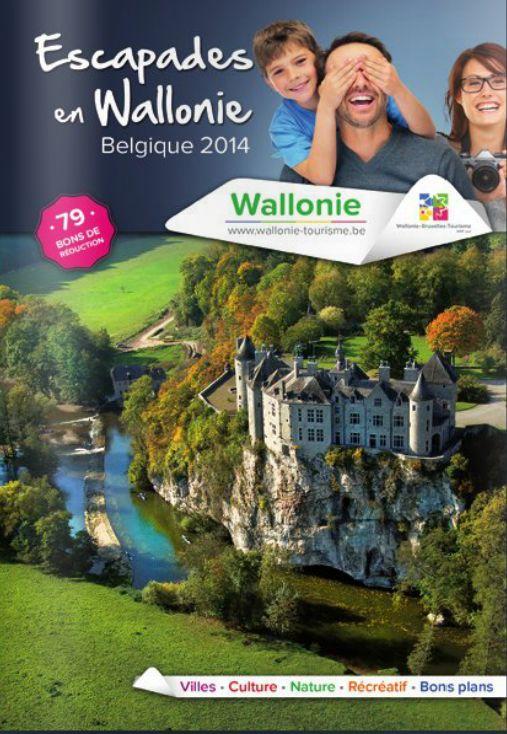 """Téléchargez notre brochure """"Escapades en Wallonie 2014"""". Vous y trouverez des bons de réduction, des visites & offres de séjours. Cette brochure constitue LA bonne idée pour découvrir la Wallonie. http://www.belgique-tourisme.be/contenus/brochure_escapades_en_wallonie_2014/fr/7363.html"""