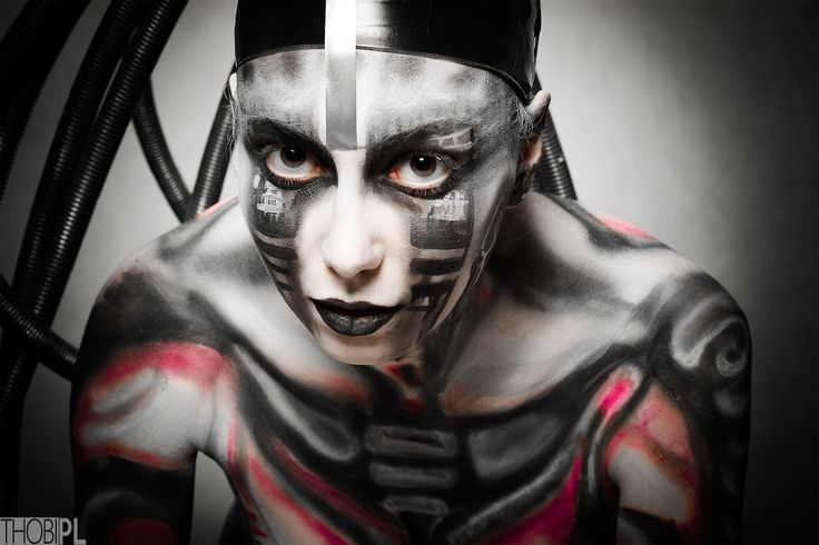 if u are #rammstein fun, u know how i feel <3  #black-white, #bodypainting, #city, #DIY, #portrait, #stylization #bodypainting, #cyber, #cyberpunk, #cyberpunk 2020, #cybertrash, #cyborg, #slums, #tentacles, #the fifth element, #trash, #wires