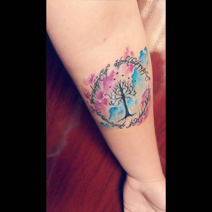 Tree of gondor tattoo                                                       …
