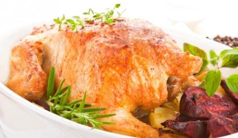 Pollo asado con hierbas.  http://serpadres.com/cocina/pollo-asado-con-hierbas/#