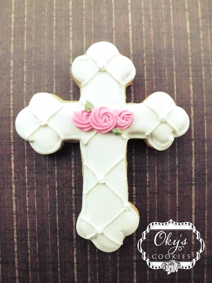 Cross cookie (pretty if bub is a girl)