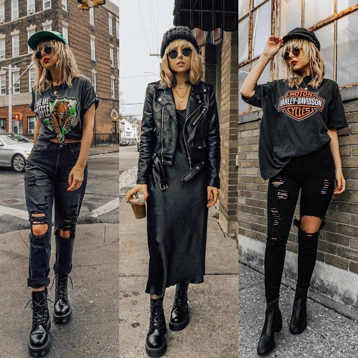 "American Style on Instagram: ""Black. Which outfit would you add to your shoppi"