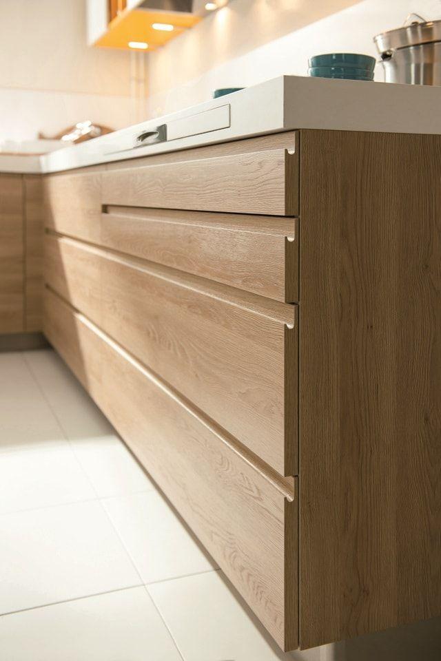 Las 25 mejores ideas sobre cocina blanca y madera en for Piso cocinas minimalistas