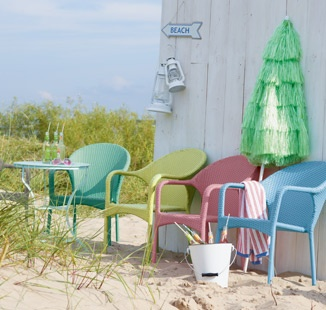 Pick your favorite beach chair color.***Research for possible future project.