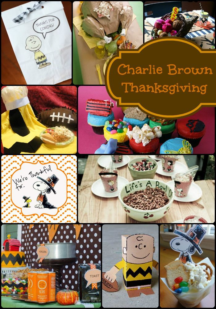 How to Host a Charlie Brown Thanksgiving Party - The Girl Creative