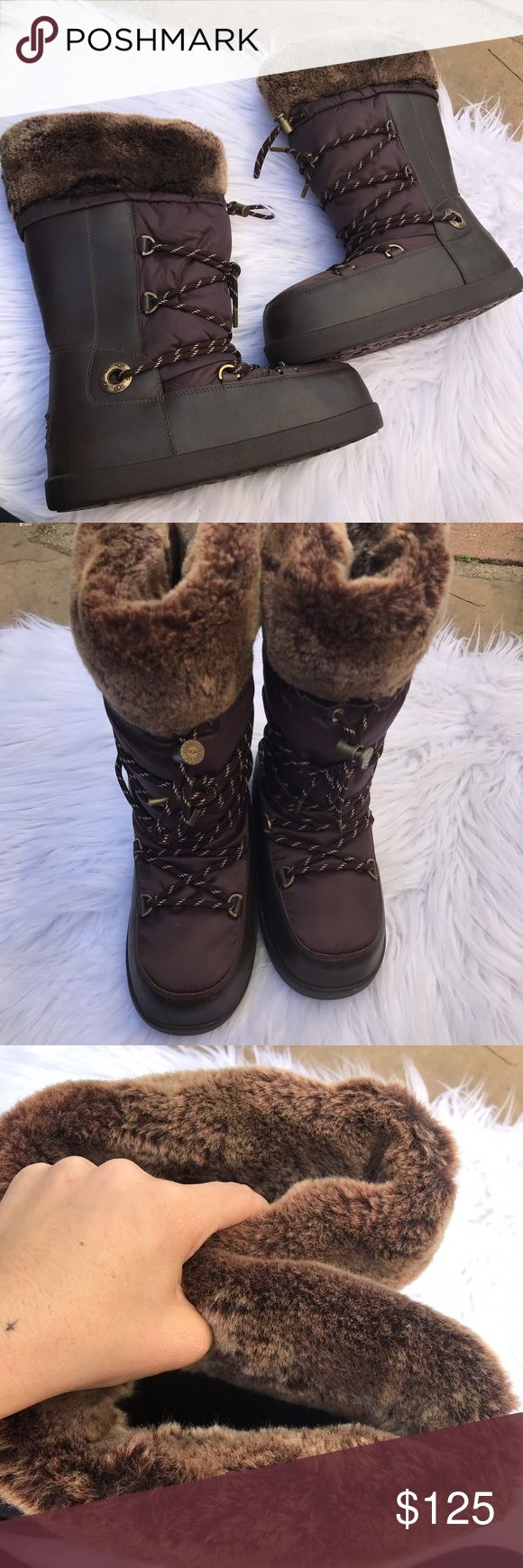 UGG SZ 8 COTTRELL SNOW BOOTS SHOES BOOTS MOON Ugg AUSTRALIA 100% authentic new without box boots UGG Shoes