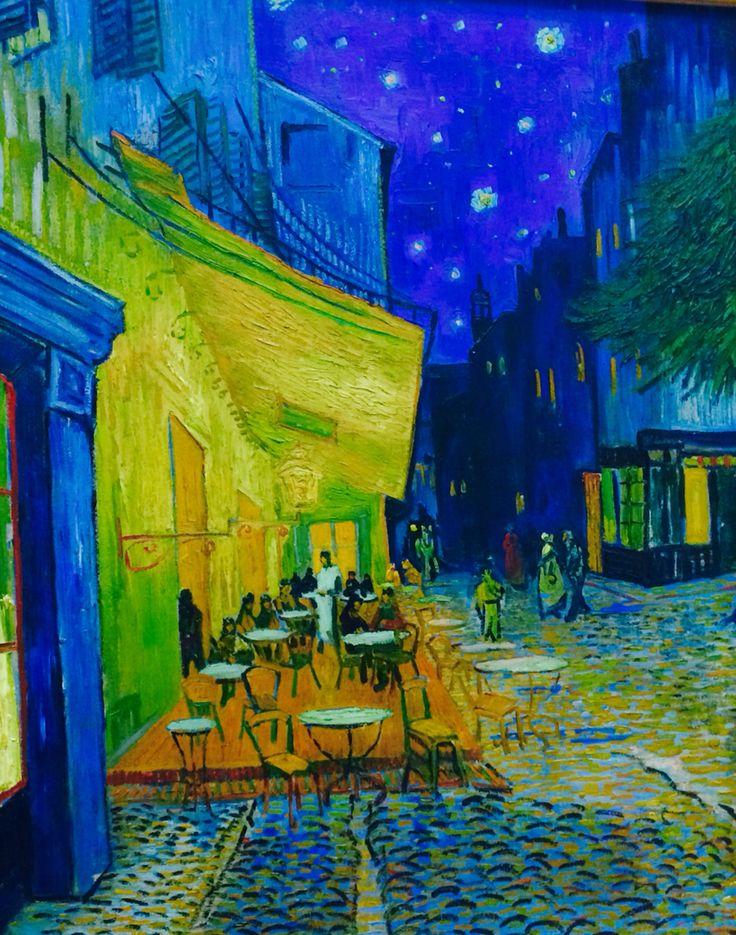 Van Gogh in Kroller-Muller museum. Park Hoge Veluwe.