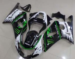 Full Fairing Kit Unpainted for Suzuki GSXR 600 2001 2002 2003, Suzuki GSXR 750 2002 2003 [Code: RFAIRING.499.FB] - Race Evolution - For all your motorcycle parts including fairings