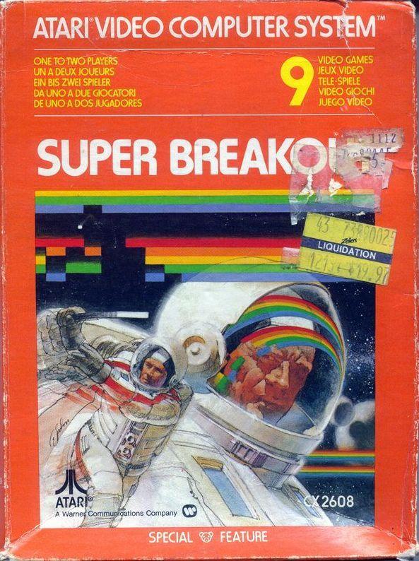Atari 2600 VCS Super Breakout