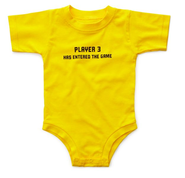 Player 3 Onesie | 23 Brilliant Baby Products You Need In Your Life