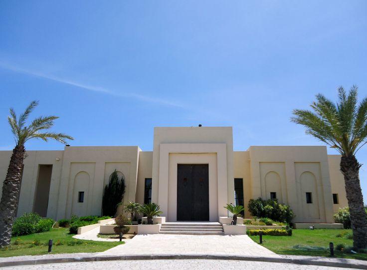 Club House of The Residence Golf Course - 18 holes.  Address: La Marsa Soukra, Tunisia. Katrina©B