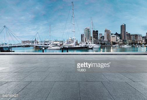 Stock Photo : City parking lot