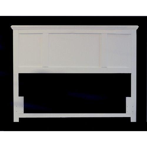 Carolina Furniture Works, Inc. Platinum Panel Headboard