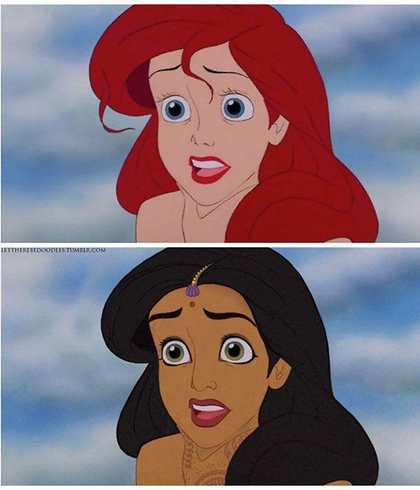 8 Disney Princesses Reimagined!!!!! CLICK! So cool!