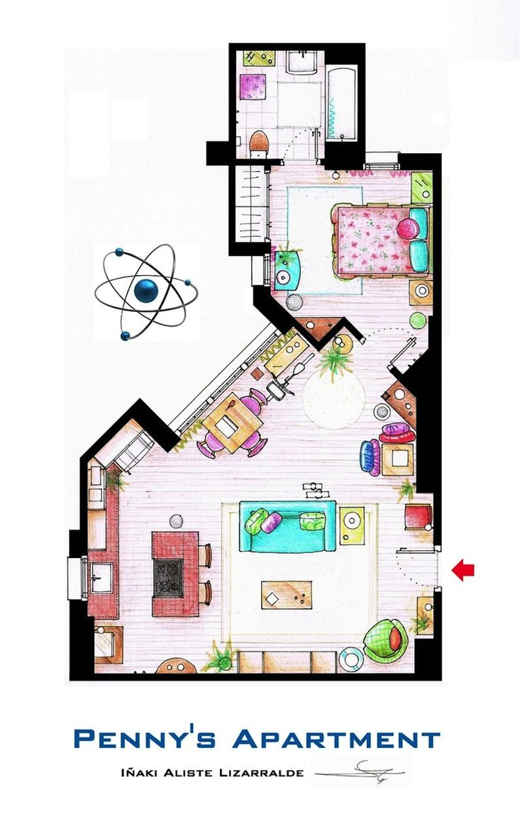 Penny's apartment (Big Bang Theory)