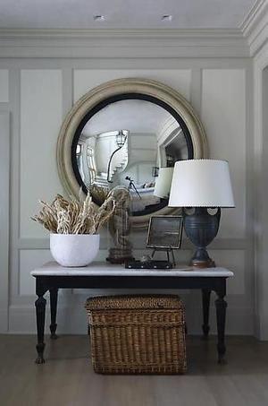 15 Examples of Convex Mirrors in Beautiful Interiors.jpg - Image: Thom Felicia, designer