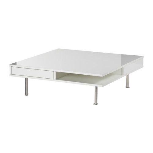 TOFTERYD Coffee table - high gloss white - IKEA