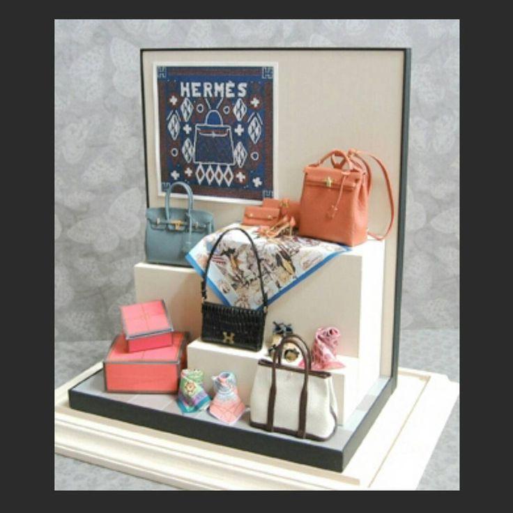 Miniature Hermes Bags ♡ ♡ My Dollhouse