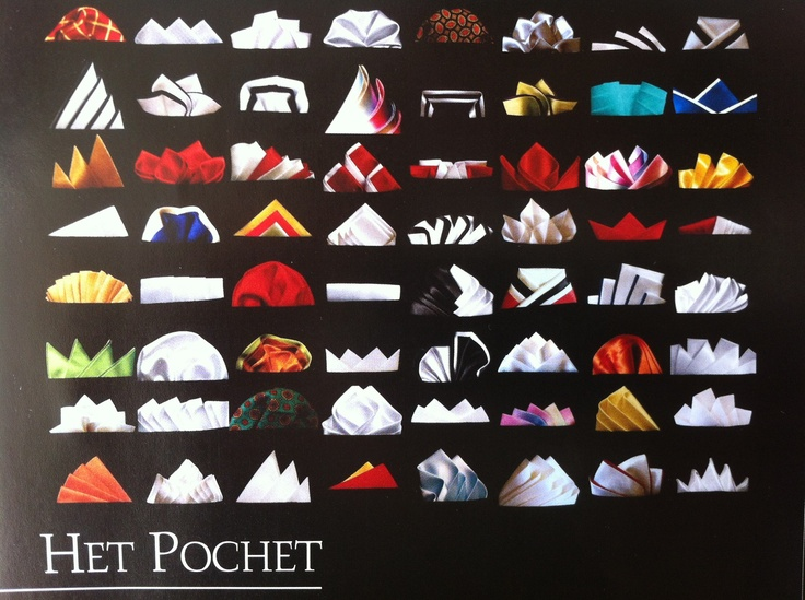 Many ways to wear pochet