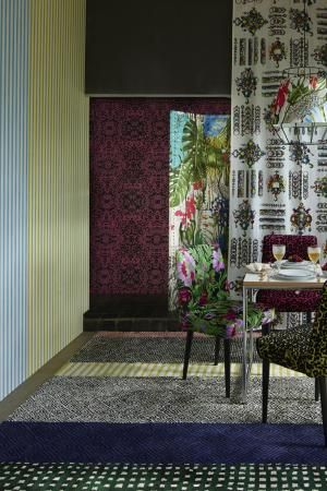 Maison 2014 | Dining Room: Belles Rives, Beautiful Shores, Christian Lacroix