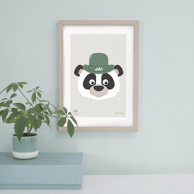 Vi er SÅ stolte over vores lille fusion - hvad synes I om Panda'en?  #KasiaLilja #alfabetdyr #Poster #Kids #Børneværelse #Plakat #Poster #Print #Interior #Interiør #Hjem #Home #Decor #Design #DanskDesign #DanishDesign #SkandinavianDesign #LimitedEdition #Tilvæggen #Børn #Gave #Dåb #Fødselsdagsgave