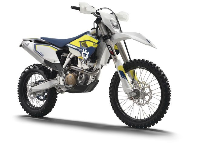 """Check out this """"Director's Cut"""" of the 2016 Husqvarna Enduro range of off-road motorcycles."""