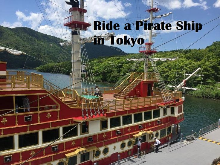 Ride a Pirate Ship in Japan