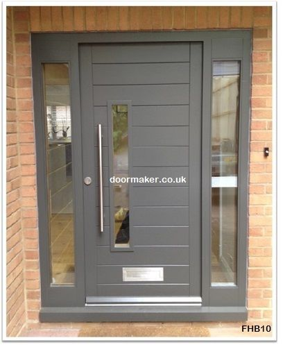 Contemporary Front Doors Trend With Picture Of Decor New On