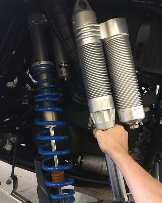 Doing a suspension swap on a 2018 RZR XP Turbo 4 seater  More pics