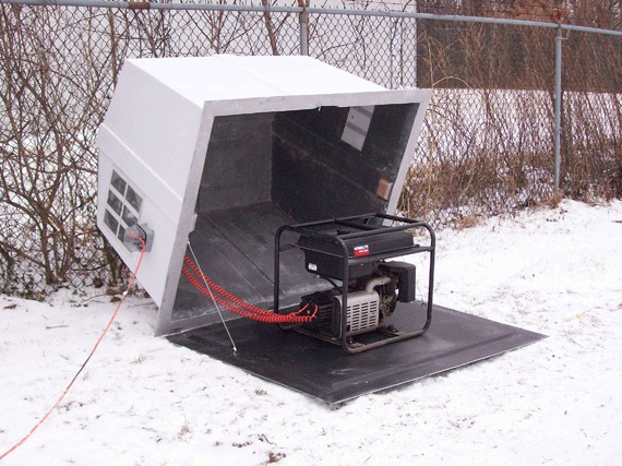 Outdoor Shelters For Generators : Best images about generator on pinterest sheds diy