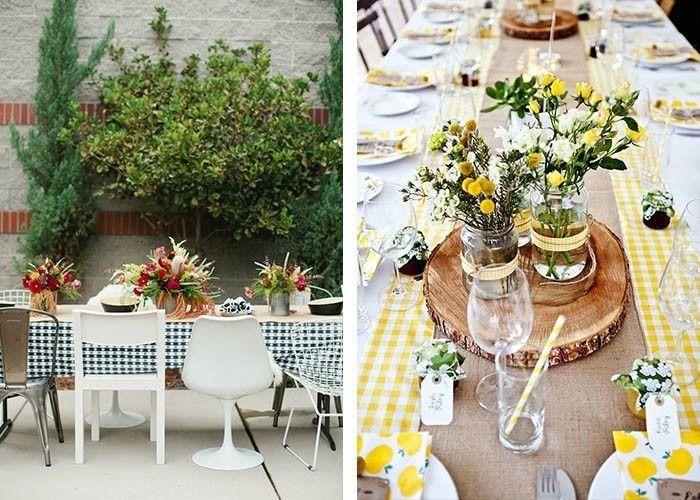Tisch Dekorieren tisch dekorieren natürliches flair garten dekoration decoration