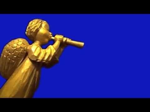 Футаж - Ангел трубит