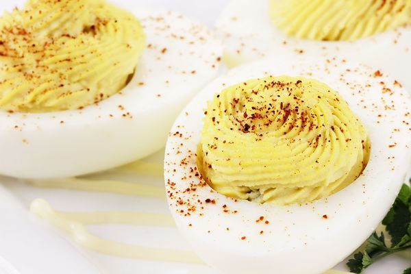 Recipes   happy Eggs Party  Deviled    Party Recipe  gogh   and Classic Eggs  Eggs Deviled black Yummy fitflop