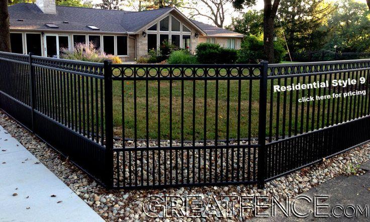 Flat Top Dog Panel With Rings Backyard Fences Dog Fence