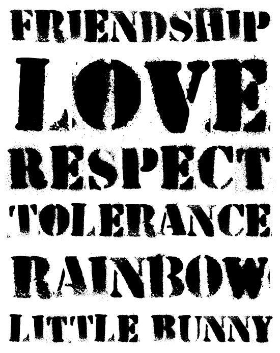 HVD Peace (Freefont) by HVD Fonts, via Behance