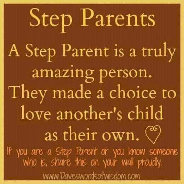 Step Parent Love Quotes Unique Step Parents  I Have Been Blessed With Two Great Step Moms And A