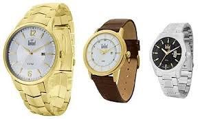 Confira as ofertas de hoje para a compra de relógios de pulso, masculinos e femininos, ótimas opções para presentes, várias marcas e vários modelos pelo melhor preço nas lojas do Magazine Luiza.