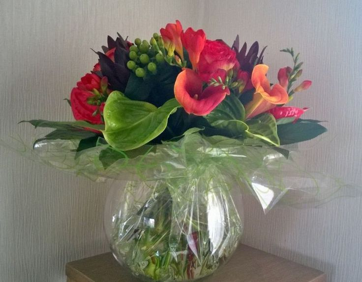 handtied in fish bowl - Google Search