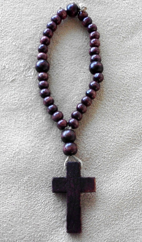 T and D Designs | Natural Wood Anglican Rosary | Online Store Powered by Storenvy