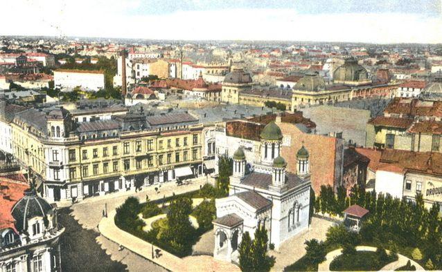 Biserica Zlătari în 1925