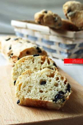 Pane alle olive senza impasto